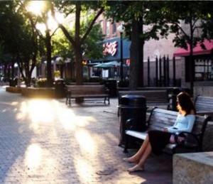 Stedenbouwfysica, een comfortabel plein