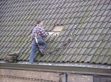 Veilig het dak op