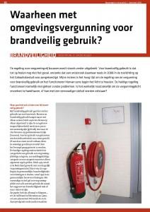Waarheen met de omgevingsvergunning voor brandveilig gebruik