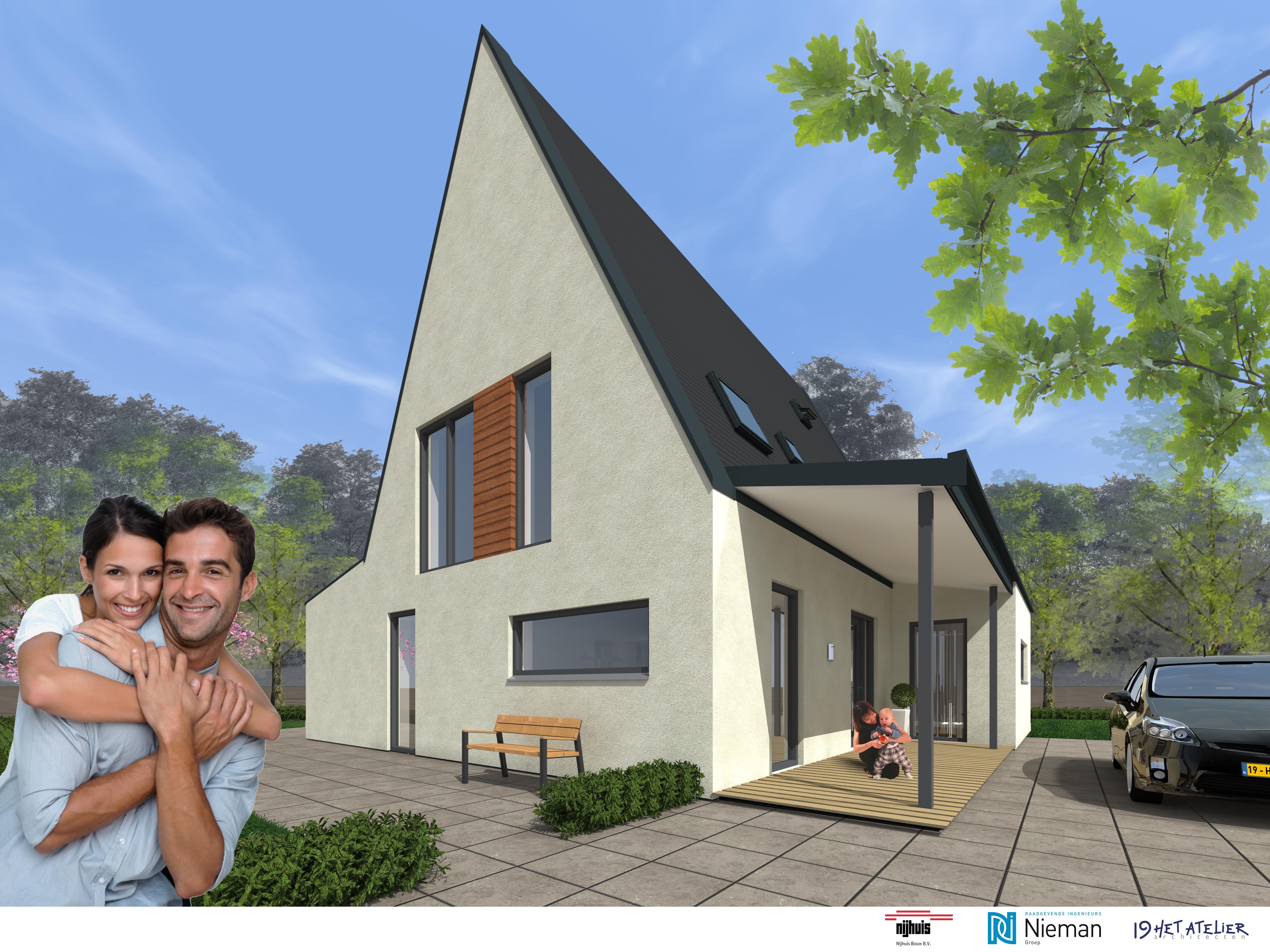 Thuis bewoners kunnen vrijstaande woning zelf for Zelf woning ontwerpen