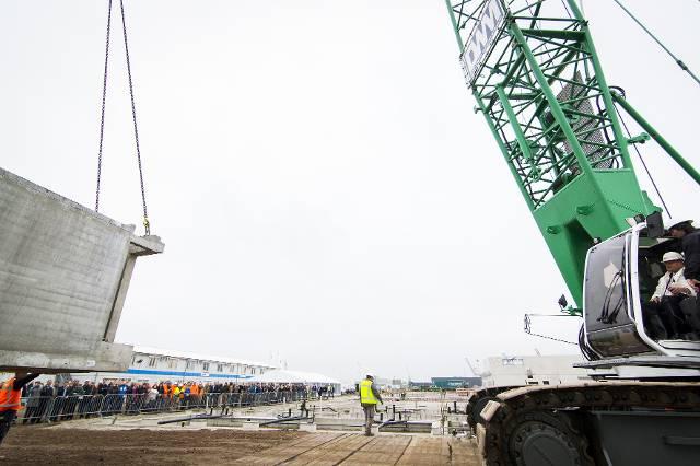Officiële bouwhandeling PI Zaanstad
