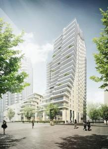 Impressie 03 Zuidas, Blok 10 Amsterdam