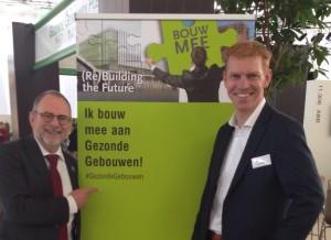 Harm Valk en Henk Koekoek op Building Holland