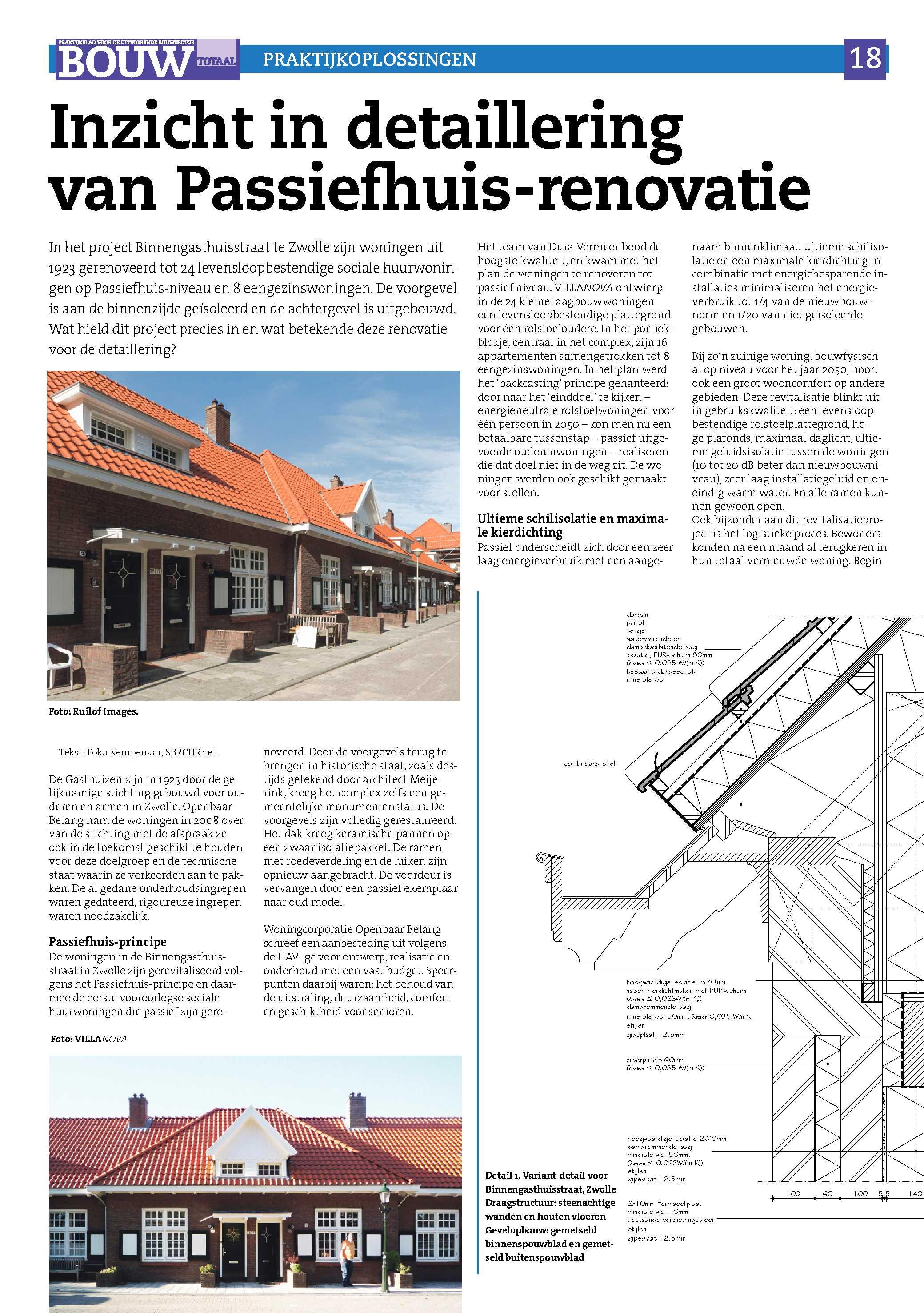 inzicht in detaillering van passiefhuis renovatie nieman
