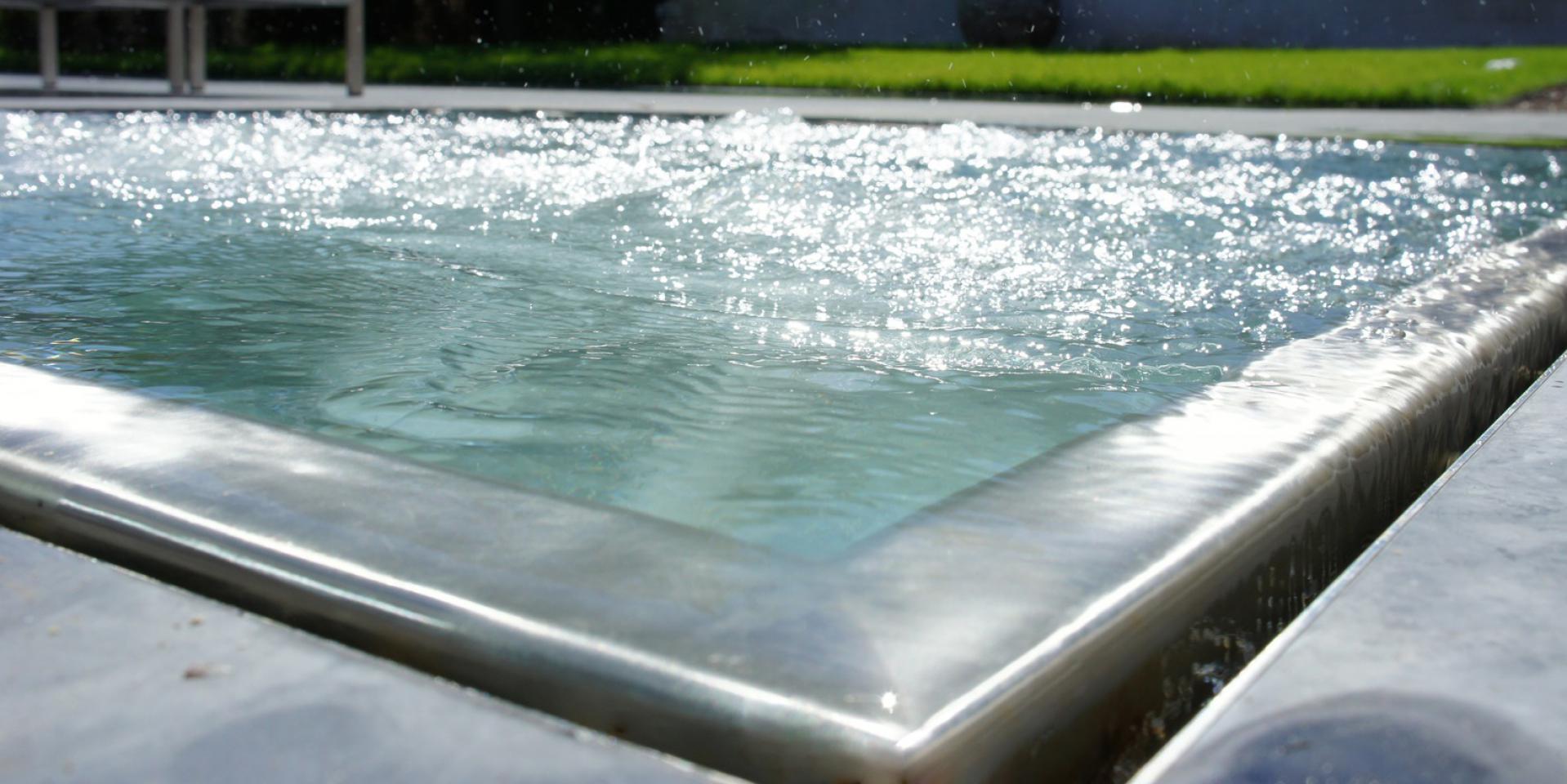 voorbeeld RVS zwembad