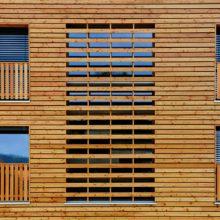 houten gevel