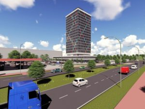 Impressie RWS toren Arnhem