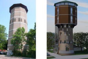 Transformatie watertoren Zwolle