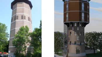 Transformatie watertoren Zwolle