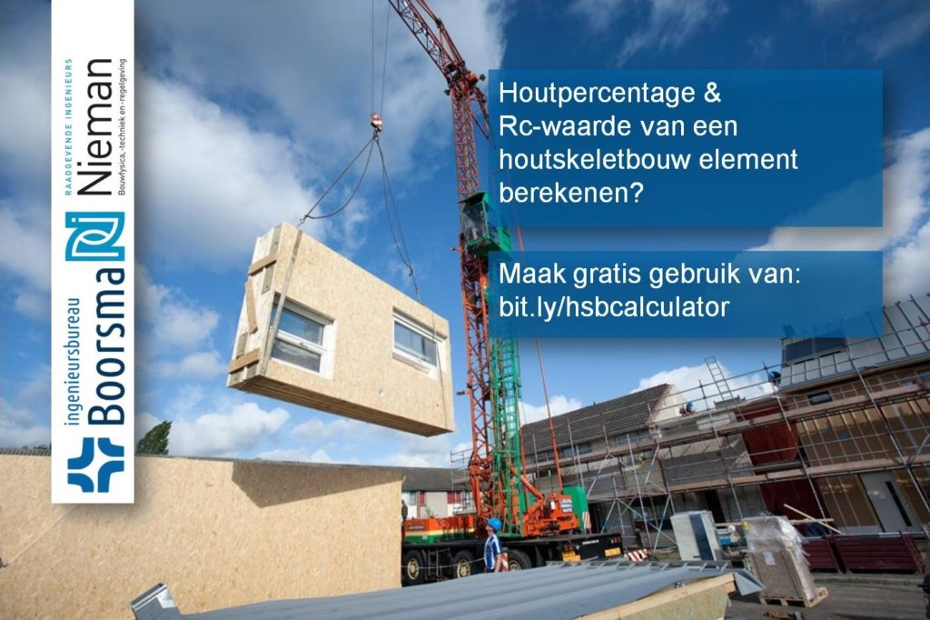 Nieman en Boorsma ontwikkelen rekentool houtpercentage houtskeletbouw!