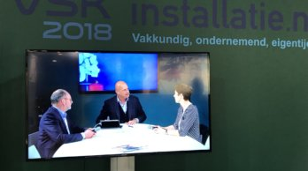 Harm Valk en Claudia Bouwens VSK Café 2018