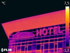 Thermografiemeting Van der Valk Hotel Leeuwarden