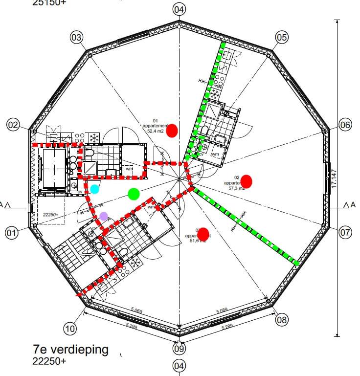 Woningen in watertoren nieman raadgevende ingenieurs for Vluchttrap bouwbesluit