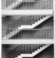 trappenhuis woongebouw