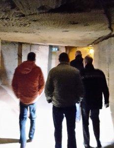 Bezoek en inspectie fluwelengrot Valkenburg