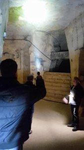 Bezoek en inspectie grotten Valkenburg