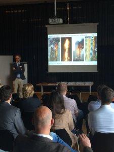 Rudolf van Mierlo, DGMR op expertclass over brandveilige gevels