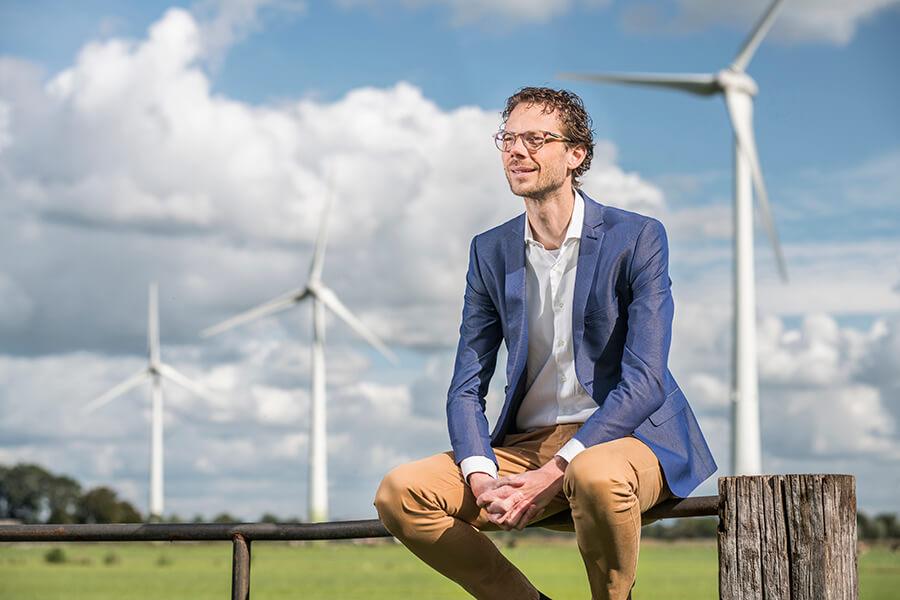 André Kruithof gefotografeerd door Sjoerd de Jonge