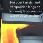 brandrisico's gevels Studiedag Brandveiligheid gevels
