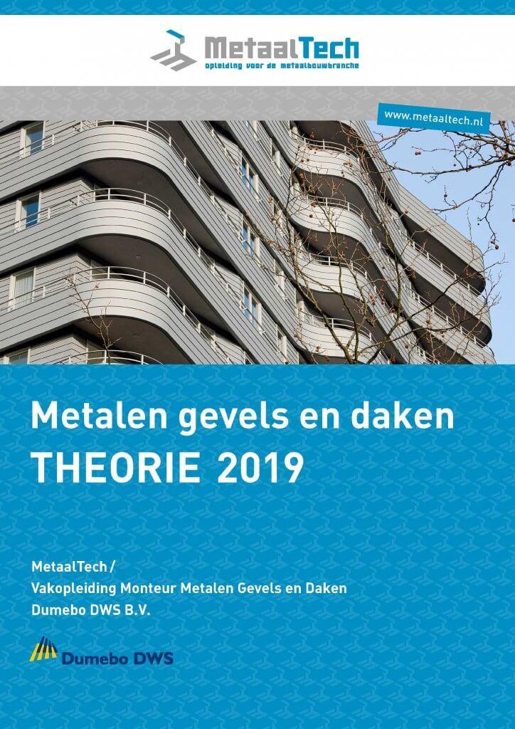 Folder Theorie cursus metalen gevels en daken 2019