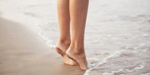 Hakken in het zand