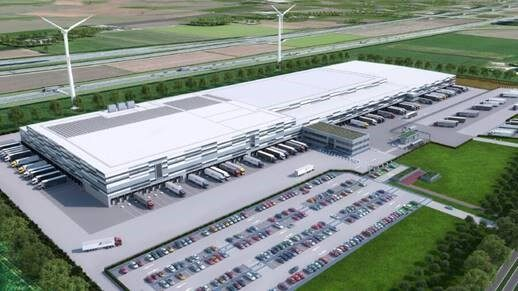 Impressie van het meest duurzame distributiecentrum in Nederland Lidl DC Oosterhout