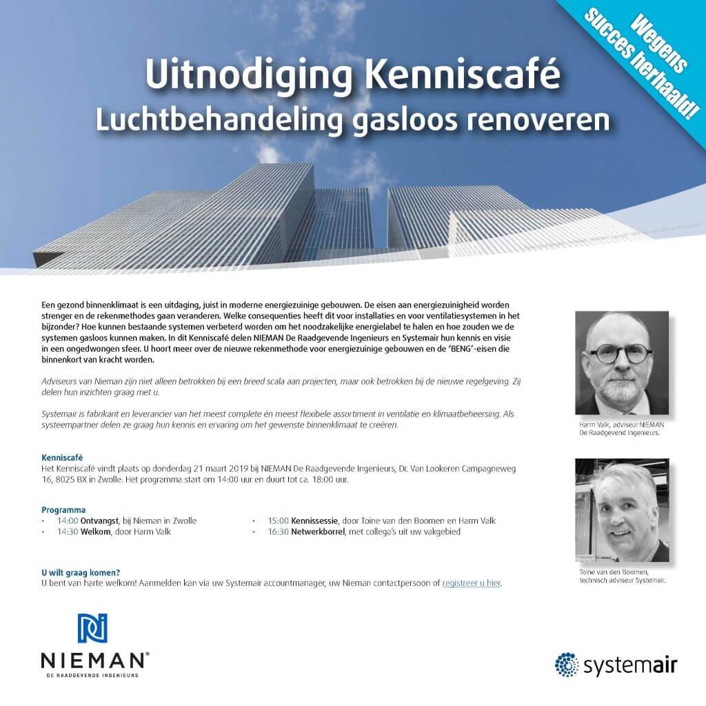 Kenniscafé Systemair - Nieman
