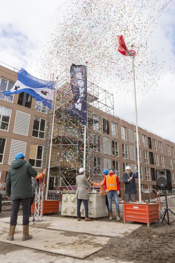 Hoogste punt OurCampus Amsterdam Diemen 2