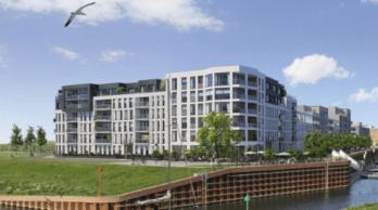 Impressie appartementen Noorderhaven kade Noord
