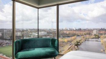 Uitzicht Olympic Hotel Amsterdam