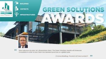 De Flat met Toekomst is ingezonden voor de Green Solution Awards.