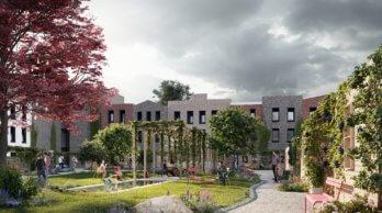 Florijn: 44 duurzame koopwoningen in Utrecht, impressie Hurks