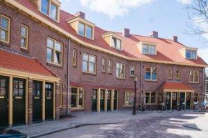 Van der Pekbuurt Amsterdam, kromme straat