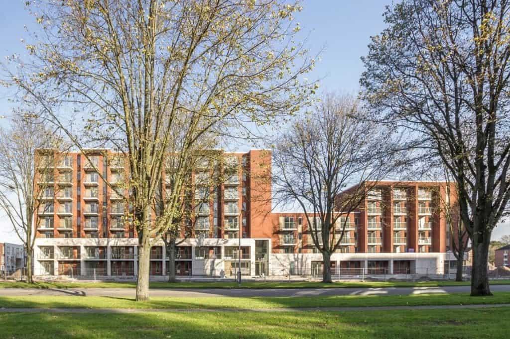 Breehorn BENG appartementengebouw Amsterdam, opgeleverd mei 2018