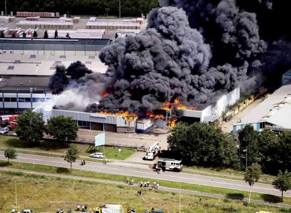 Industriebouw-brand