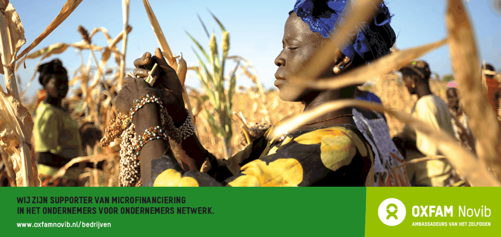 Oxfam Novib supporter