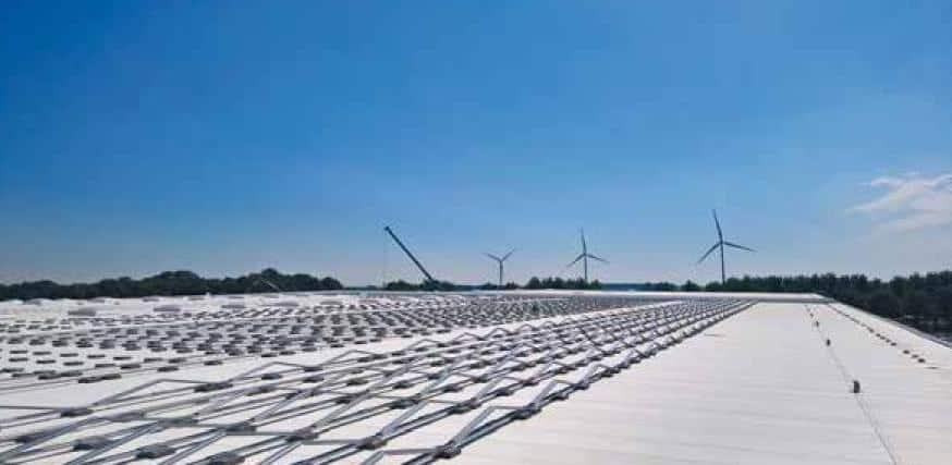 pv-panelen-aanbouw-dak-Lidl-Waddinxveen-1