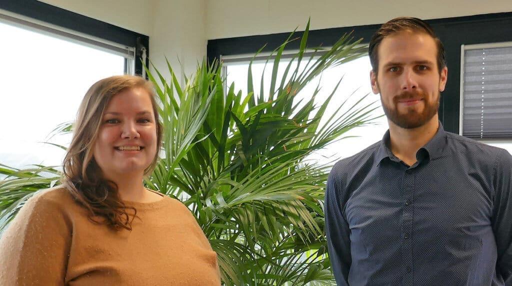 Anne Struiksma en Joost Vos van Nieman Raadgevende Ingenieurs