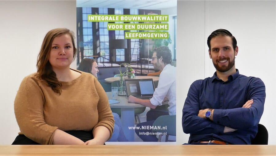 Anne Struisma en Joost Vos van Nieman Raadgevende Ingenieurs