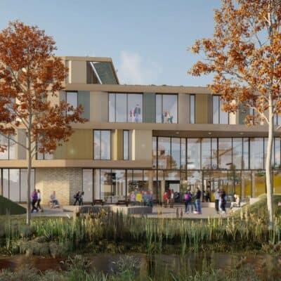 Impressie duurzame Capellen Campus Zwolle